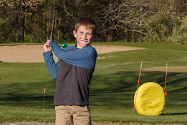 Using golf to help youth master the game of life