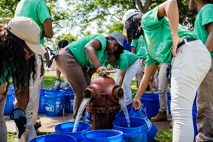 Outdoor jobs cultivate Detroit's next generation of environmental stewards