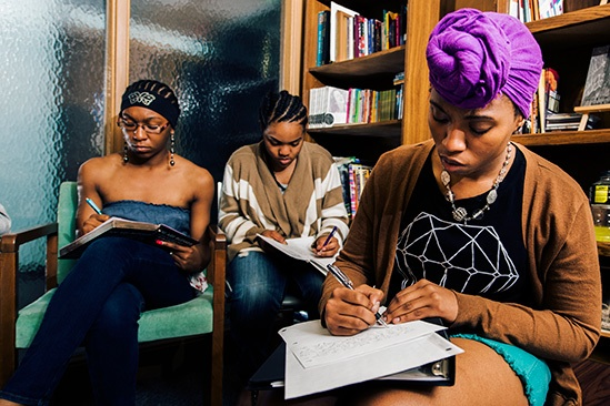 YOUNG POETS IN FLINT