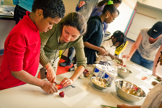 Cooking Matters for Families - Photo by Doug Coombe