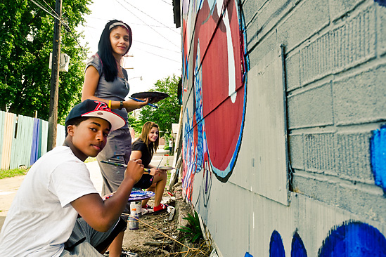 Southwest Urban Arts Mural Project - Photo by Doug Coombe