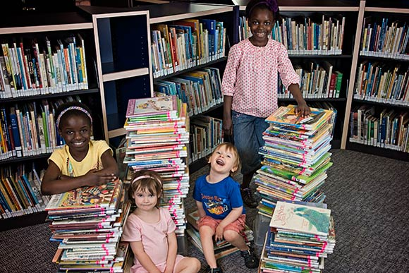 1000 Books Program at Kalamazoo Library.
